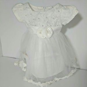 Other - New Baby Girl Kid Child White Party Wedding Dress